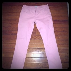Girl's Pink Jeans - size 16